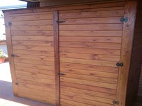 Casetas de madera para jardin exteriores de madera for Casetas de madera exterior